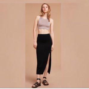 Wilfred Free Shields Skirt Medium Heather Grey